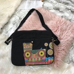 Handbags - Owl Lap Top Bag